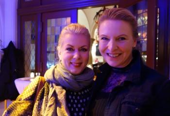 Gerlinde Jänicke und Johanna Wahlig